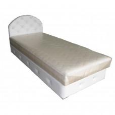 Тапицирано легло ANDOLI ПИПИ с повдигащ механизъм на матрака и ракла