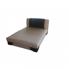 Тапицирано легло ANDOLI БЕЛА с повдигащ механизъм на матрака и ракла