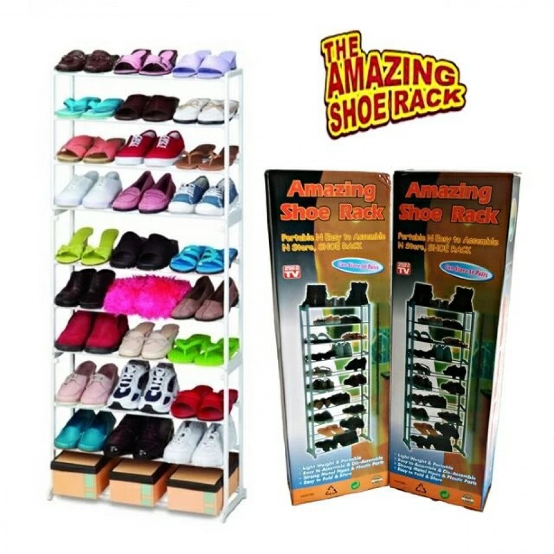 Подвижен стелаж за обувки AMAZING SHOES RACK